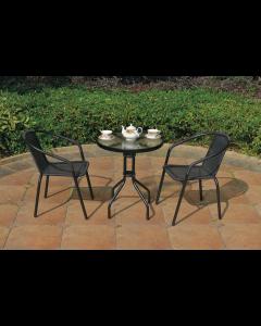 Balkongarnitur Bistro Tisch 2 Sessel