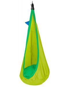 Joki Froggy - Kinder-Hängehöhle aus Bio-Baumwolle inkl. Befestigung