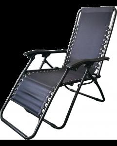 Relaxsessel Stahl/Polyester textilene AL