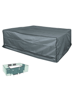 Schutzhülle 200x160x70cm premium, grau