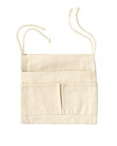 LA SIESTA® Útil Écru - Hängematten-Einhängetasche aus Bio-Baumwolle